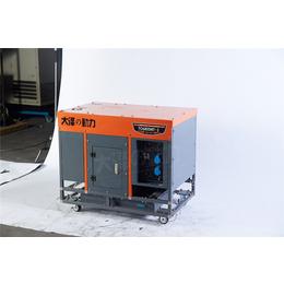 油冷5千瓦开架式柴油发电机