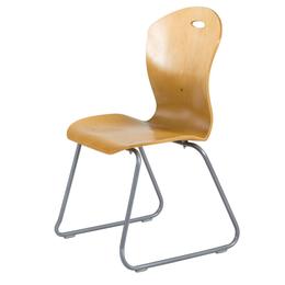 厂家 职员椅 曲木椅 钢木椅 快餐桌椅QY1002