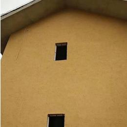 仿黄泥巴墙涂料稻草漆价格 生态稻草漆 稻草漆效果图