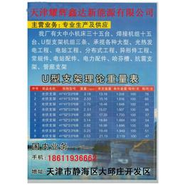 天津热镀锌光伏支架厂家电话价格材质