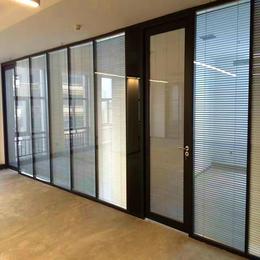 公司办公室玻璃隔断  效果图