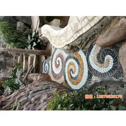 鹅卵石画,申达陶瓷厂,鹅卵石
