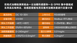 郑州建大仁科在线式油烟监控变送器 实时监测