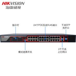 易信购商城出售海康威视DS-3E0326P-E POE交换机
