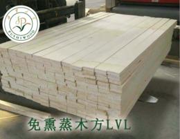 供应厂家直销免熏蒸木方LVL定做尺寸