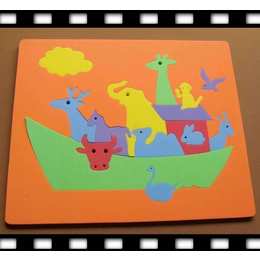 沅美佳高密度聚酯海绵 EVA花色拼图 EVA益智拼图 玩具用