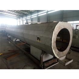 PE管单螺杆管材挤出机qy8千亿国际