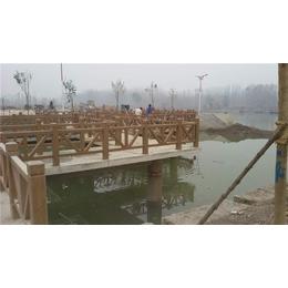 昌平仿木护栏-泰安压哲栏杆-仿木护栏价格