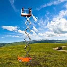 自行走升降机 全自动升降车 液压升降车 星汉高空作业平台
