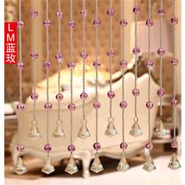 水晶门帘-晶鹏水晶—工艺精湛-水晶门帘安装
