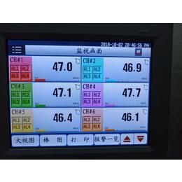 TEMI2500温度无纸记录仪 彩屏记录仪厂家