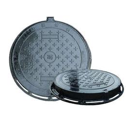 球墨铸铁井盖 污水雨水下水道圆形井盖厂家缩略图