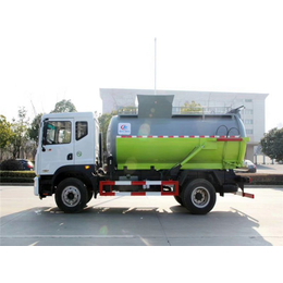 餐厨垃圾车+具有干湿分离系统和电加热功能餐厨垃圾车