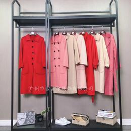 雪莱尔服饰品牌女装 女装中长款双面呢 一手货源一线二线走份