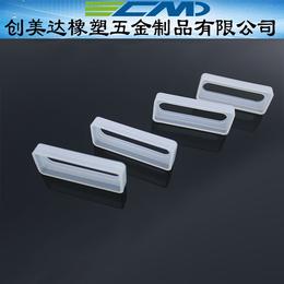 东莞硅胶杂件可折叠可翻转 惠州矩形硅胶密封出线孔各种规格定制