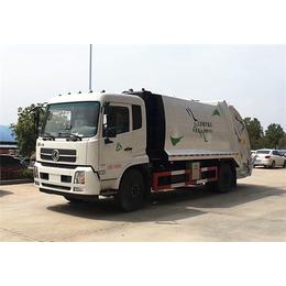 东风天锦压缩式垃圾车12吨压缩式垃圾车