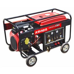 300A汽油发电电焊机能焊6.0焊条