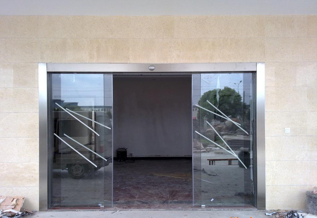 无框玻璃感应门 方便维修 南昌厂家订购