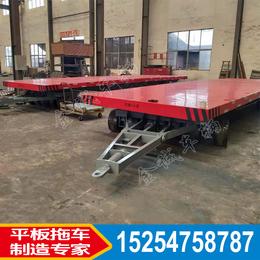 重型港口平板拖车 ****大型平板车厂区通用型