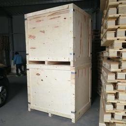 山东青岛胶南木质包装箱厂家定做胶合板木箱 可有效保护货物