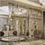 新中式艺术装饰不锈钢屏风隔断家庭酒店定制玫瑰金不锈钢花格屏风缩略图4