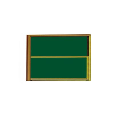 铝合金双组升降双面金属黑板