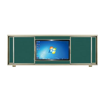 铝合金左右推拉单面液晶绿板