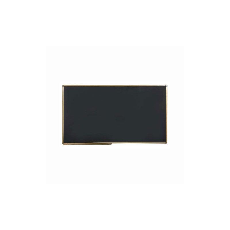 铝合金固定单面玻璃黑板