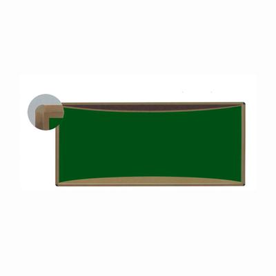 铝合金弧形单面金属绿板