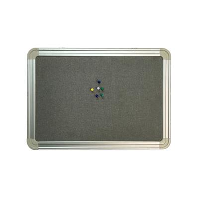 铝合金固定单面丙纶布面黑板