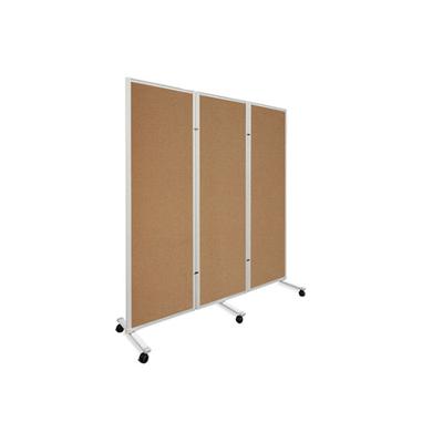 铝合金折叠双面水松板白板
