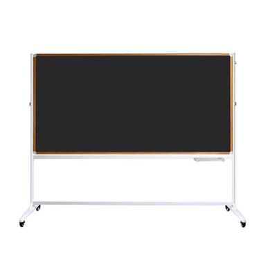 铝合金翻转双面丙纶布面黑板