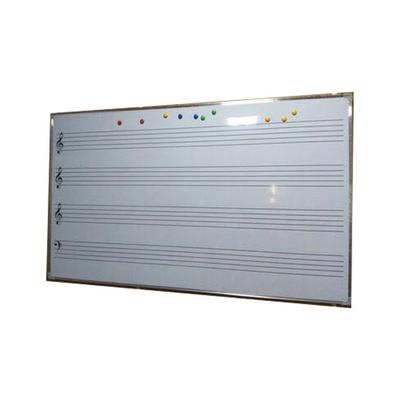 不锈钢专用黑板单面塑料白板