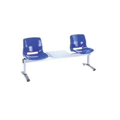 两人铝合金玻璃钢连排椅