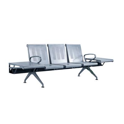 三人钢管冷轧钢板连排椅
