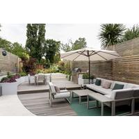 如果我有个庭院,一定要搭建防腐木地台,漂亮防水怎么看都看不腻
