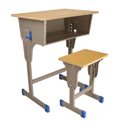 中小学单柱外升降课桌凳