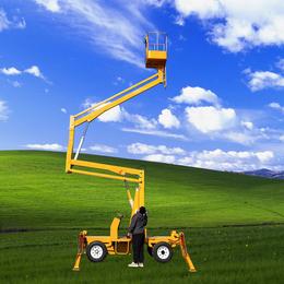 14米曲臂升降机 柴油机自行式升降车 星汉曲臂升降平台报价