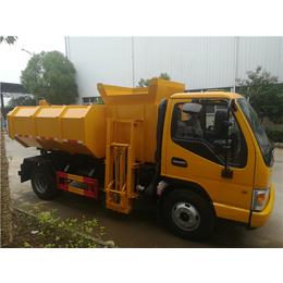 养殖厂用15吨干粪污运输车-15立方粪液运输车可按揭报价