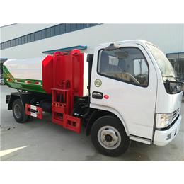 有机肥厂8吨粪污运输车-10吨粪便运输车滴水不漏