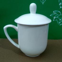 白胎骨瓷新款中南海杯 龙杯 小一号杯 三号有纹杯定制厂家