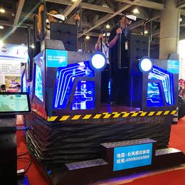 炫境科技新款XTF气象展厅安全教育体验VR台风qy8千亿国际