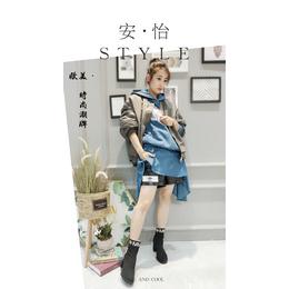 上海安怡欧韩潮牌女装品牌尾货厂家折扣拿货