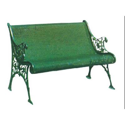 两人钢管不锈钢公园椅