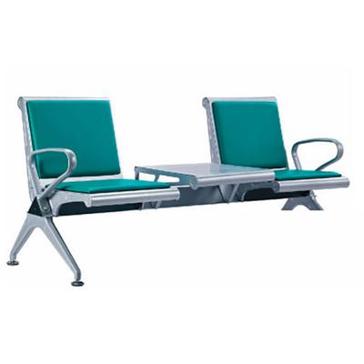 两人钢管PU连排椅