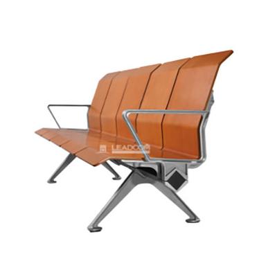 五人铝合金PU连排椅