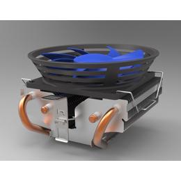 CPU吸热电脑散热器 宝迪凯厂家直销批量定制铜管散热器