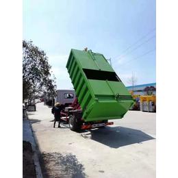东风牌养鸡场10吨鸡粪清运车  10立方粪便收集车