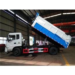 装卸10吨有机粪肥的垃圾运输车  养殖厂拉运十吨污粪清运车