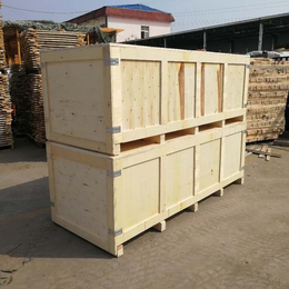 青岛黄岛胶南木质包装箱厂定做胶合板木箱 方便实用